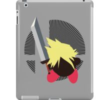 Cloud (Kirby Hat) - Sunset Shores iPad Case/Skin