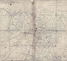 Civil War Maps 1254 Part of map of portions of the mility dep'ts of Washington Pennsylvania Annapolis and north eastern Virginia by wetdryvac
