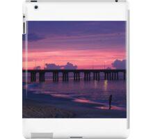 ALONE AT SUNSET iPad Case/Skin
