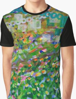 A Look over the Hedge Graphic T-Shirt