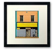 River North Framed Print