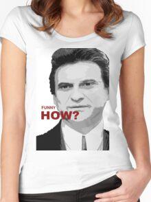 goodfellas, movie art, joe pesci, gangster Women's Fitted Scoop T-Shirt