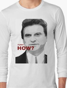 goodfellas, movie art, joe pesci, gangster Long Sleeve T-Shirt