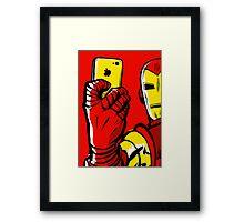 Stark #Selfie Framed Print