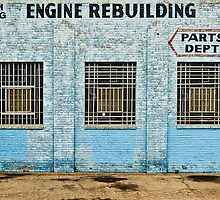 Engine Rebuilding Building by JRRouse