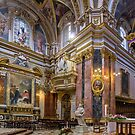 Mdina Baroque Cathedral Malta by Edwin  Catania