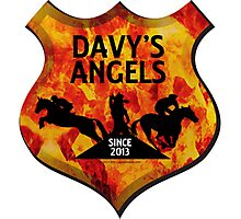 Davy's Angels Badge Photographic Print
