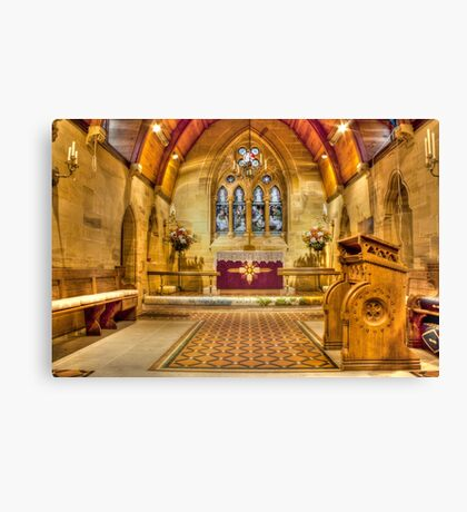 St Lawrence Seal Chart  Canvas Print