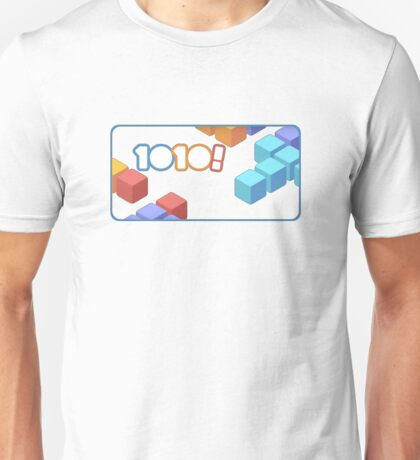 1010! The Addictive Puzzle Game Unisex T-Shirt