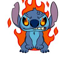 Cute angry Stitch by LikeYou