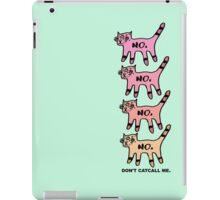 Don't Catcall Me (Ombre) iPad Case/Skin