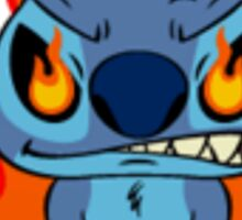 Cute angry Stitch Sticker