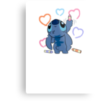 From Stitch with love Metal Print