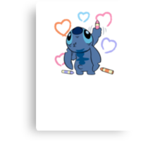 From Stitch with love Canvas Print