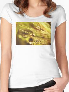 Macro Drops Women's Fitted Scoop T-Shirt