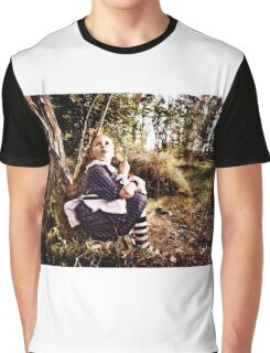The Alice Series: There's a Grinning Cat Up There Graphic T-Shirt