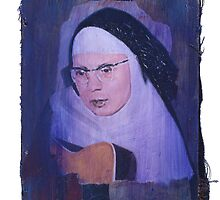 Portrait of the Singing Nun by robertpriseman