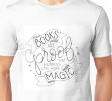Books Are Magic Unisex T-Shirt