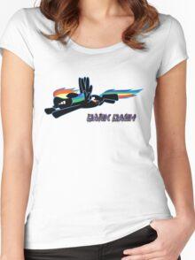 Dark Dash Women's Fitted Scoop T-Shirt