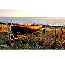 Once at a dreaming sea in summer Photographic Print