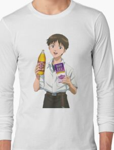 Ghetto Shinji Ikari Long Sleeve T-Shirt