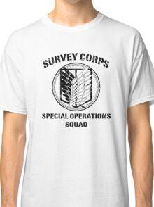 Survey Corps Black Classic T-Shirt