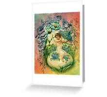 EASTER CHERUB BLESSINGS Greeting Card