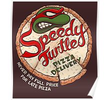 Speedy Turtle Poster
