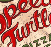 Speedy Turtle Sticker