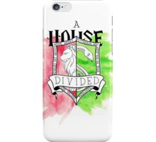 Wizard House Divided {Sly & Brave} iPhone Case/Skin