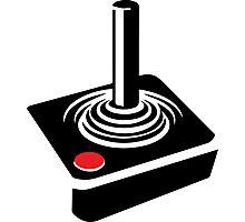 Retro Atari Joystick Photographic Print