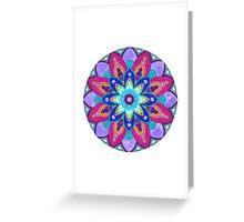 Mandala Bright Greeting Card