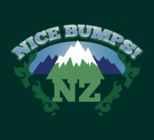 NEW ZEALAND map with NZ NICE BUMPS by jazzydevil