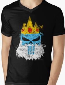 Ice King Punisher Mens V-Neck T-Shirt