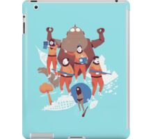 time crime iPad Case/Skin