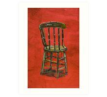 Chair Study Art Print
