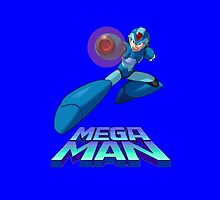Megaman phonecase by Bergmandesign