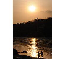 Sunset in Ram jhoola Photographic Print