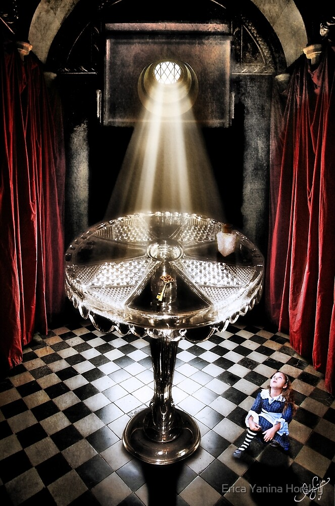 The Alice Series: A Glass Table by Erica Yanina Horsley