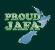 PROUD JAFA (New Zealand Kiwi design) Just another Fing Aucklander by jazzydevil