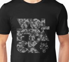 Abstract Wolfpack (Grey) Unisex T-Shirt
