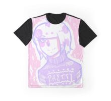 Pink and Purple Graphic T-Shirt