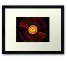 LP Flip Side Framed Print