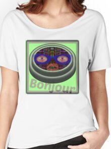 bonjour Women's Relaxed Fit T-Shirt