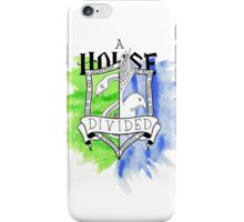 Wizard House Divided {Sly & Smart} iPhone Case/Skin