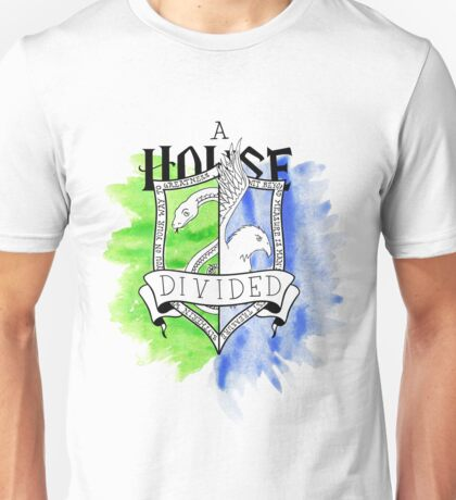 Wizard House Divided {Sly & Smart} Unisex T-Shirt