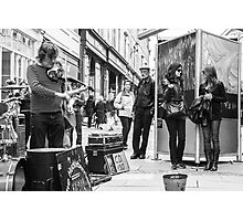Street Music Photographic Print