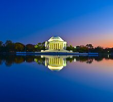 Thomas Jefferson Memorial by surangaw