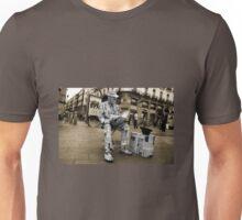Newspaper Man  Unisex T-Shirt