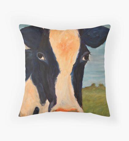 Cow Throw Pillow
